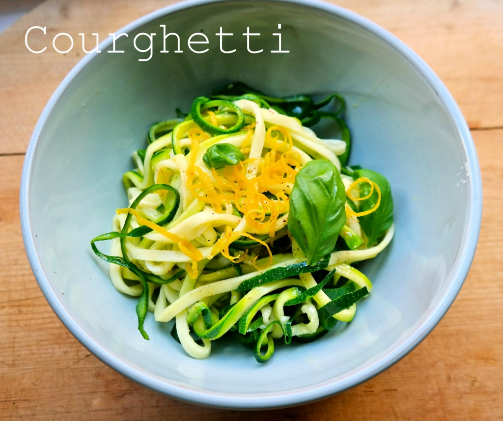 April food – (courghetti)